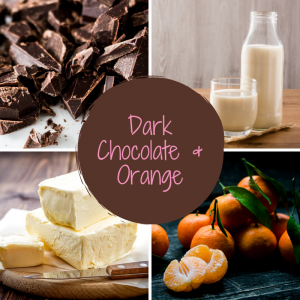 Dark Chocolate and Orange Fudge